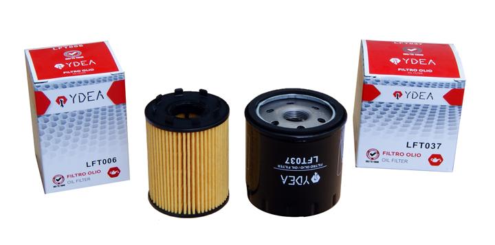 filtri olio YDEA